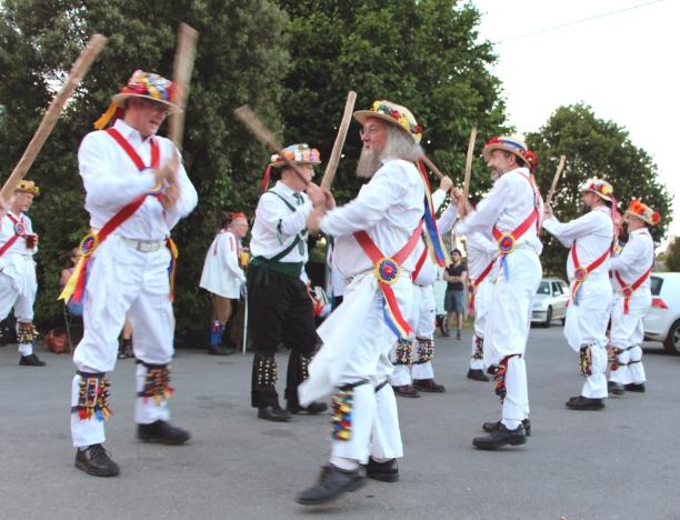 IMG_2008 Gloucestershire Morris Men dancing Vandals of Hammerwich (Lichfield)